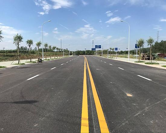 淄川道路警告标线